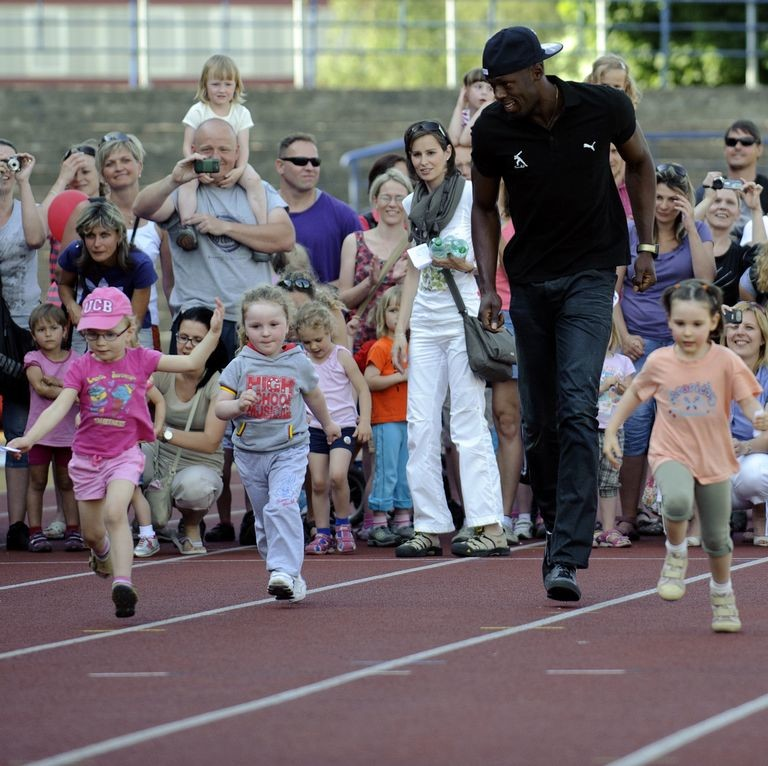 Usain Bolt Is Officially the World's Fastest Dad