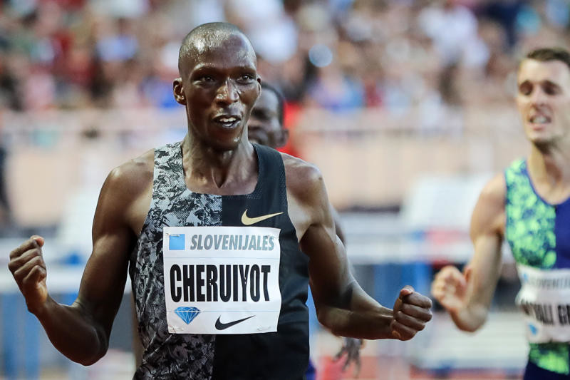 Three-time Diamond League champion, Timothy Cheruiyot now sets his focus on gold in Doha