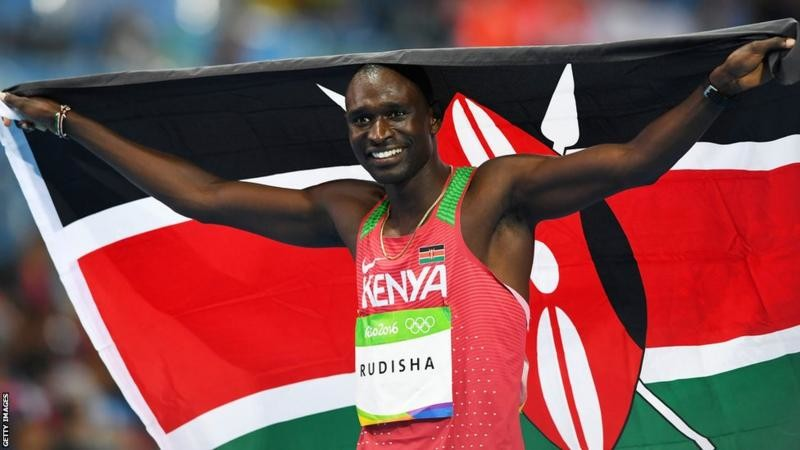 Kenya's David Rudisha says he is yet to decide whether he will try and win a third straight 800 meters Olympic title in Tokyo next year