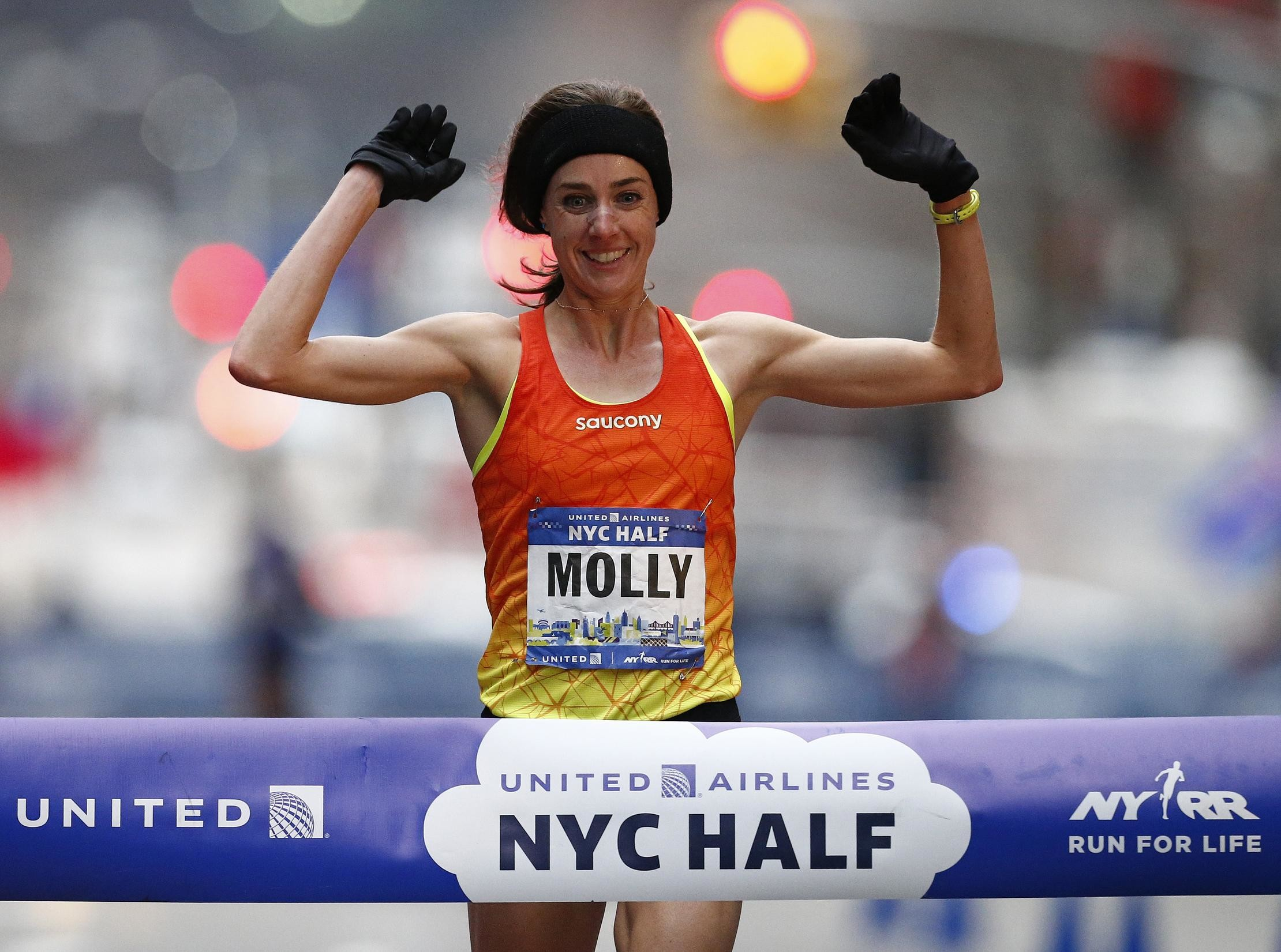 I just think if you could pick a day and place to win, it would be Patriot's Day in Boston says Molly Huddle