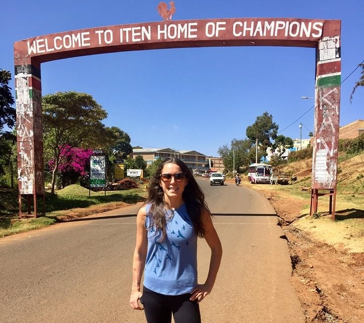 Allie Kieffer is in Kenya to train with 2020 Olympic goal in sight