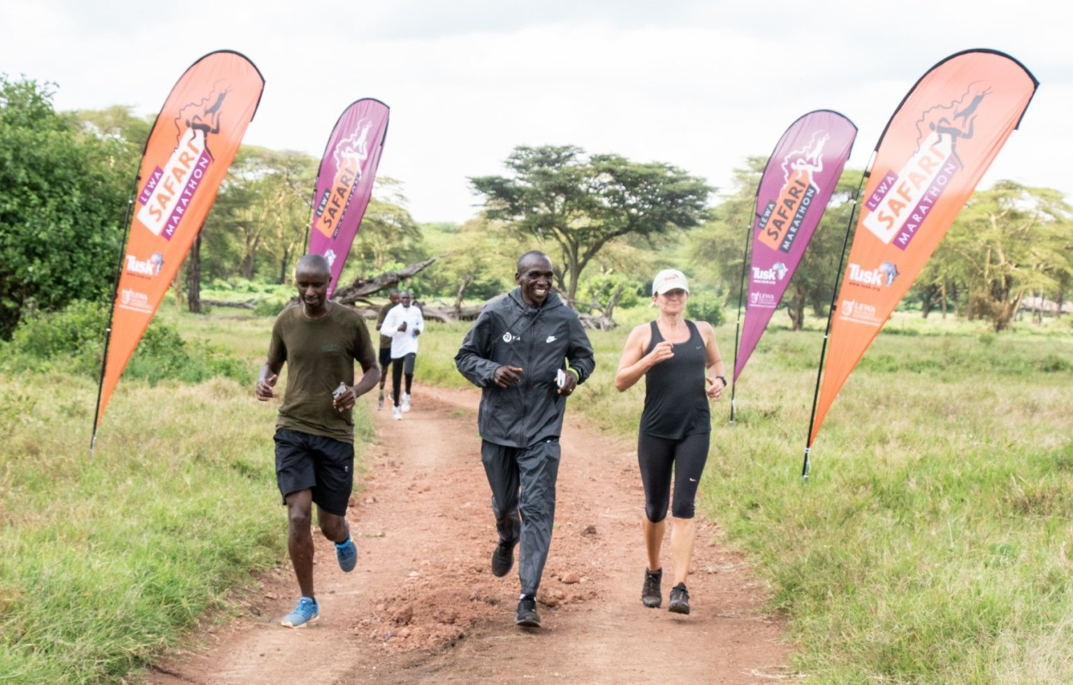 Having been cancelled due to the pandemic, this year's Lewa Safari Marathon will be staged virtually, with Eliud Kipchoge leading the way