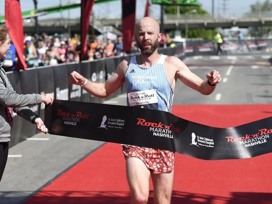Six-time winner Scott Wietecha won´t let injury get in the way from going for seventh straight Nashville marathon win