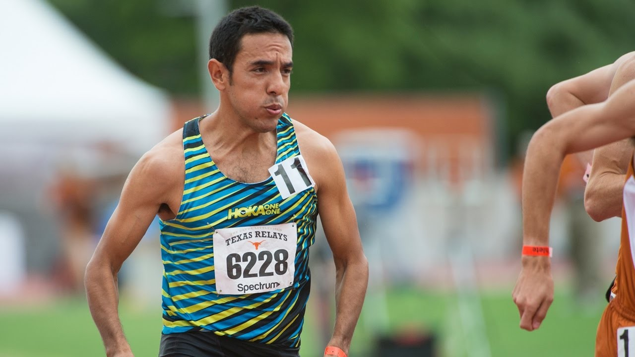 Olimpic silver Medalist, Leo Manzano has had A Long Run