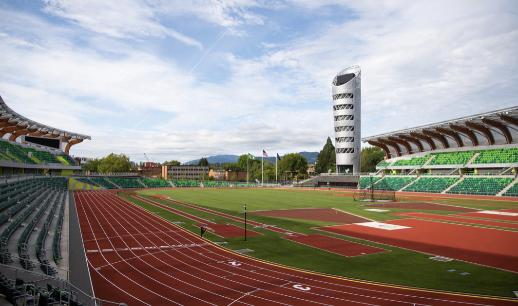 Registrations is now open for the 2021 Eugene Marathon which will finish at the new Hayward Field Stadium