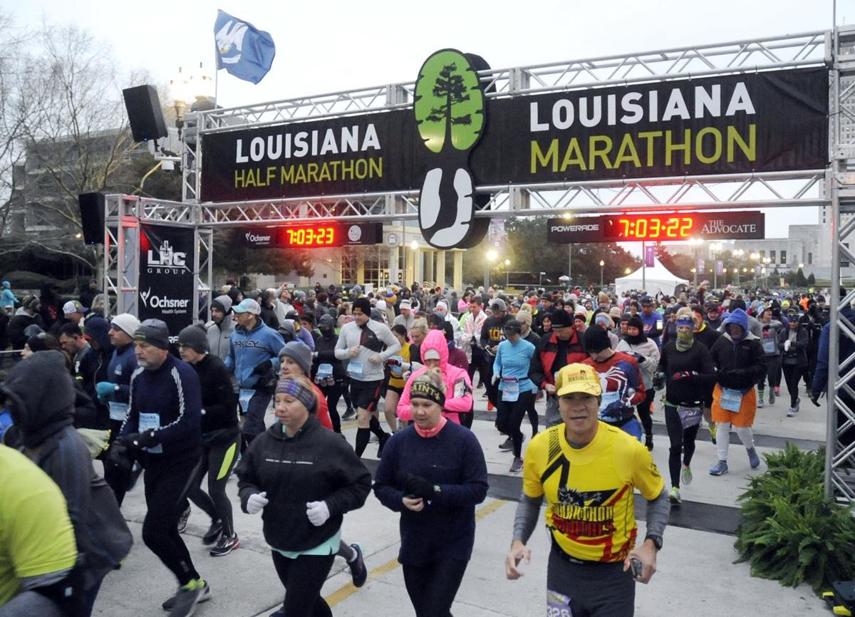 The Louisiana Marathon is expected to attract 8,000 runners over the Jan. 17-19 weekend
