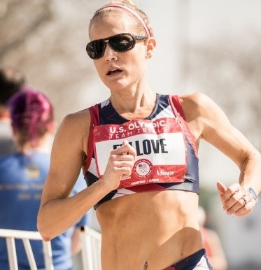 Shaluinn Fullove is running the Eugene Marathon not letting a double mastectomy get in her way