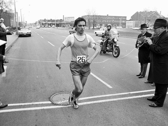 Jerome Drayton's Canadian marathon record of 2:10:09 has stood for nearly 43 years