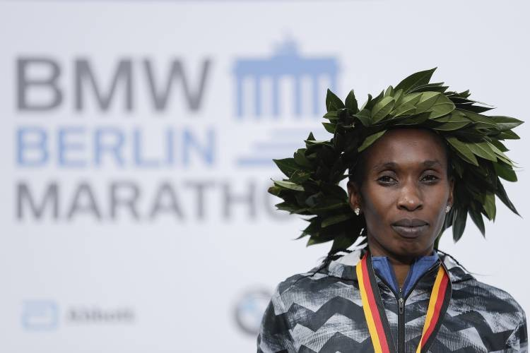 Kenya's Gladys Cherono returns to the Berlin Marathon in search of a fourth victory on Sunday