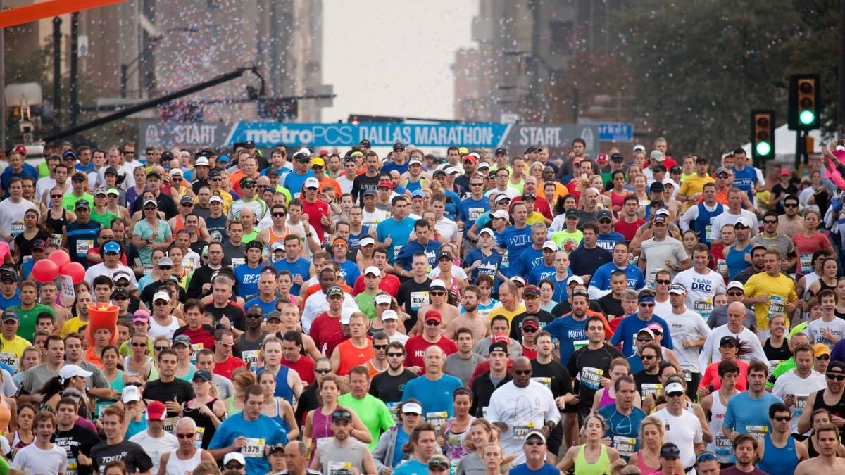 The BMW Dallas Marathon is the oldest marathon in texas starting 49 years ago