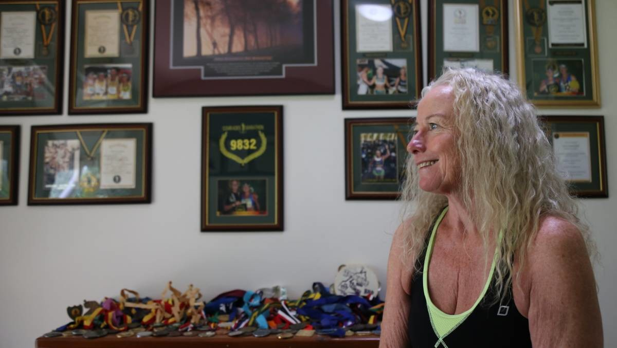 Anne Crawford-Nutte Has run 80 Marathons after being told she would never walk again