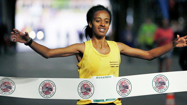 Defending champ Tesfaye is ready to win the Fargo Marathon for the third time