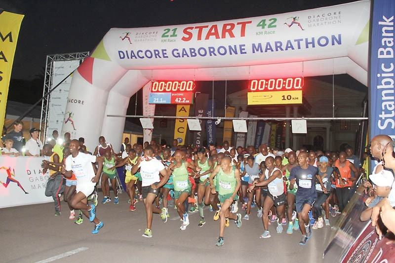 The Diacore Gaborone Marathon is now offering a 1 Million Pula Prize
