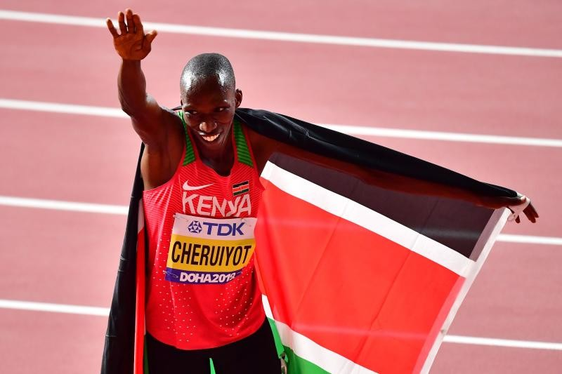 World 1,500m champion Timothy Cheruiyot hopes to maintain form for the 2021 Tokyo Olympics