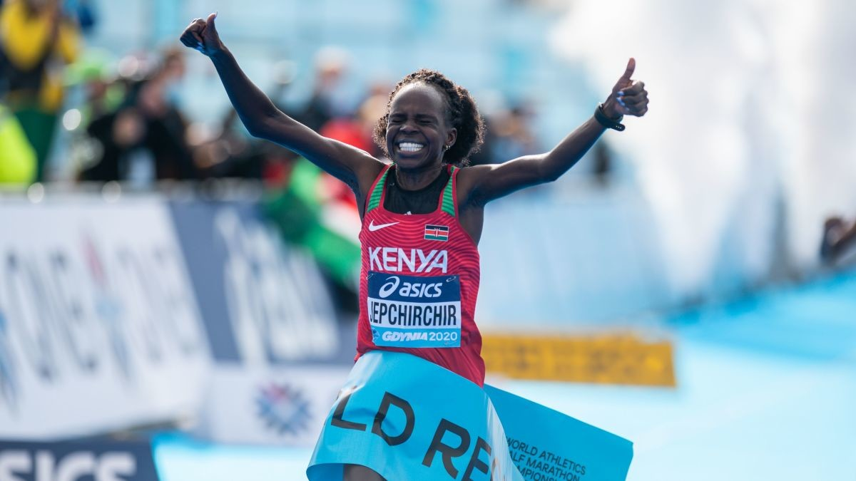 World half marathon record holder Peres Chepchirchir seeks inclusion in Kenya's Olympic marathon team