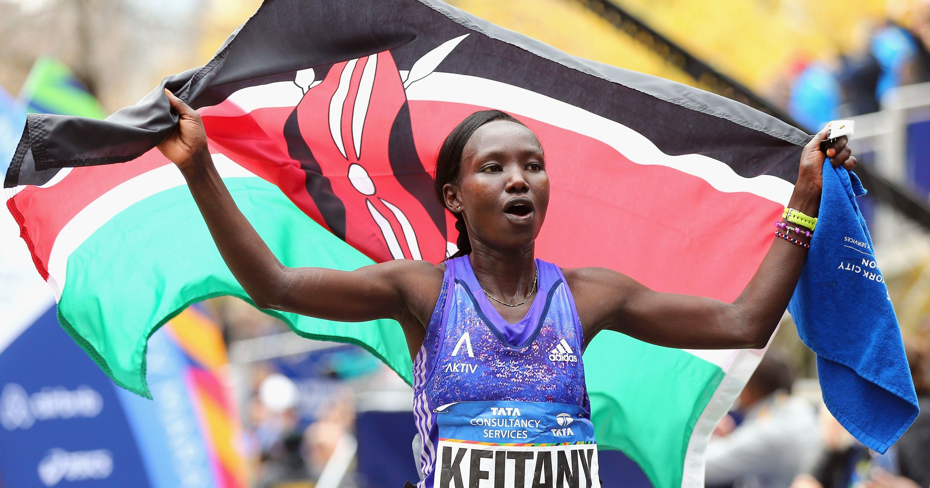 Mary Keitany has set her sights on breaking the world marathon record next year