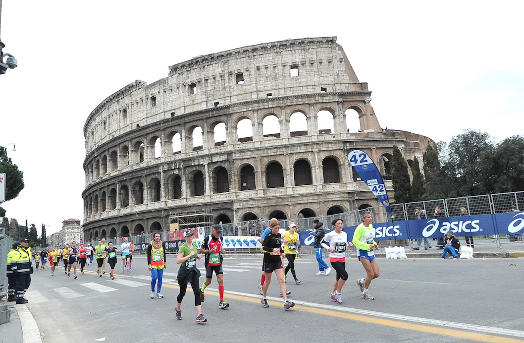 The Rome Marathon is under new management with a new name, logo and new date, Sunday March 29 2020