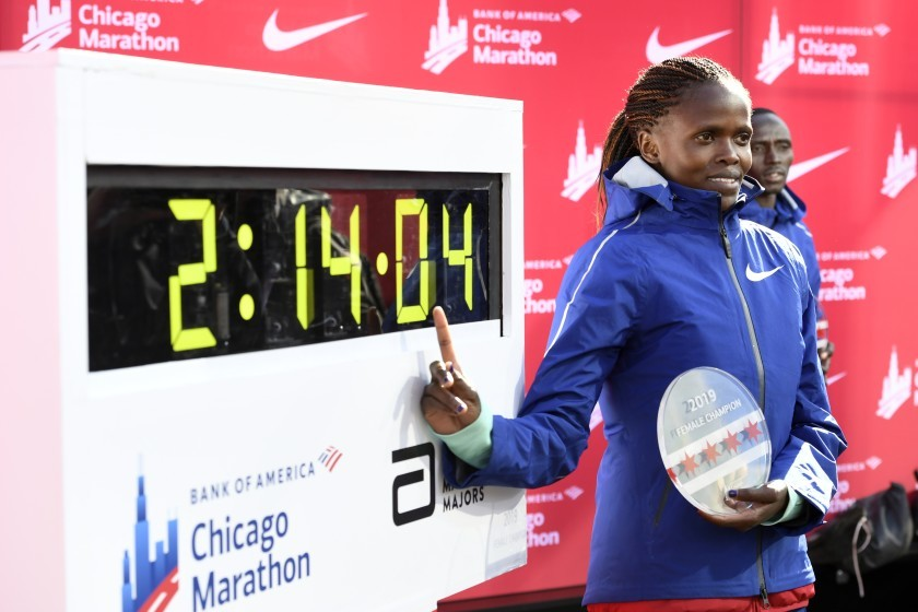 World marathon record holder Brigid Kosgei set for first race of the season