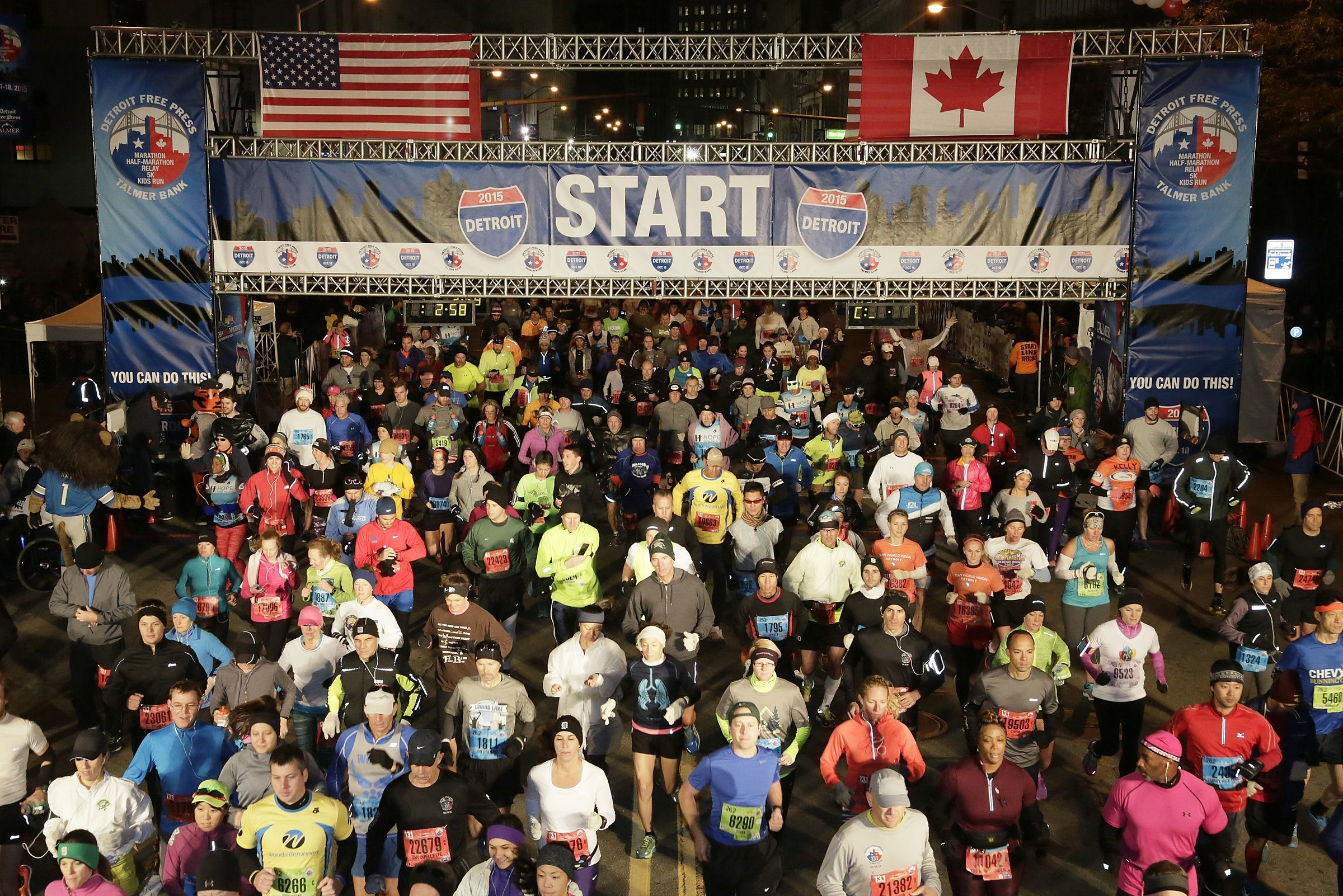The Detroit Free Press Marathon, is joining other large cities in canceling its fall event because of the coronavirus