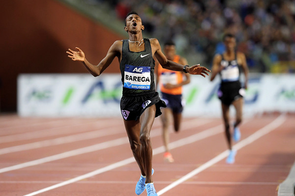 18-year-old Selemon Barega clocked the fourth fastest time ever for 5000m winning in 12:43:02