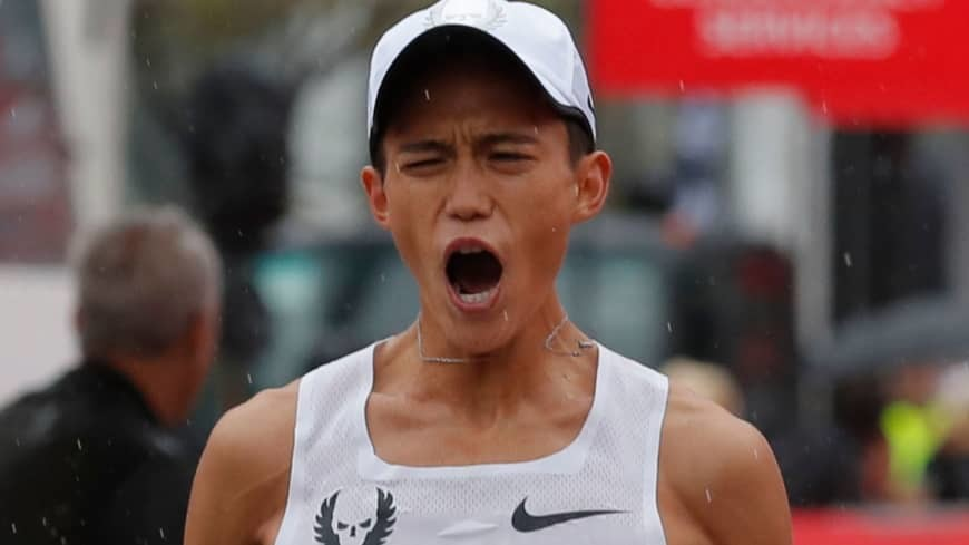 Can Japan's Suguru Osako Win the Tokyo Marathon on home soil? Yes it is possible but there are five Africans in the field with faster times