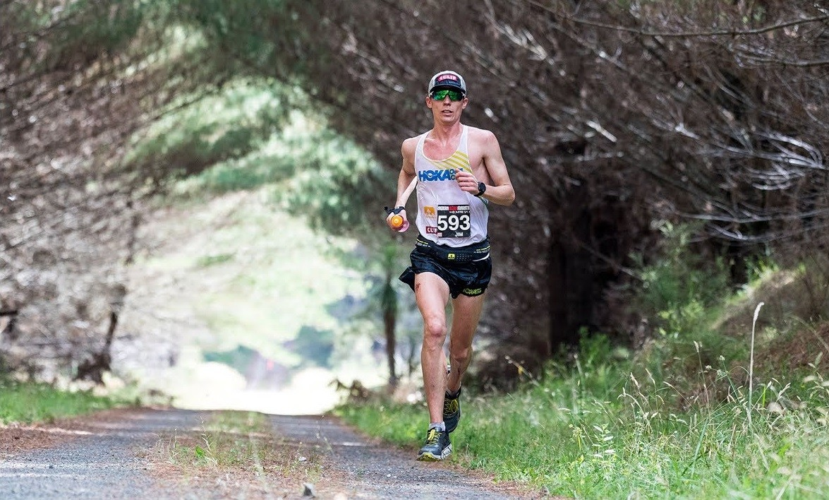Jim Walmsley said that he could beat a 2:05 marathoner if they were matched up on a trail race