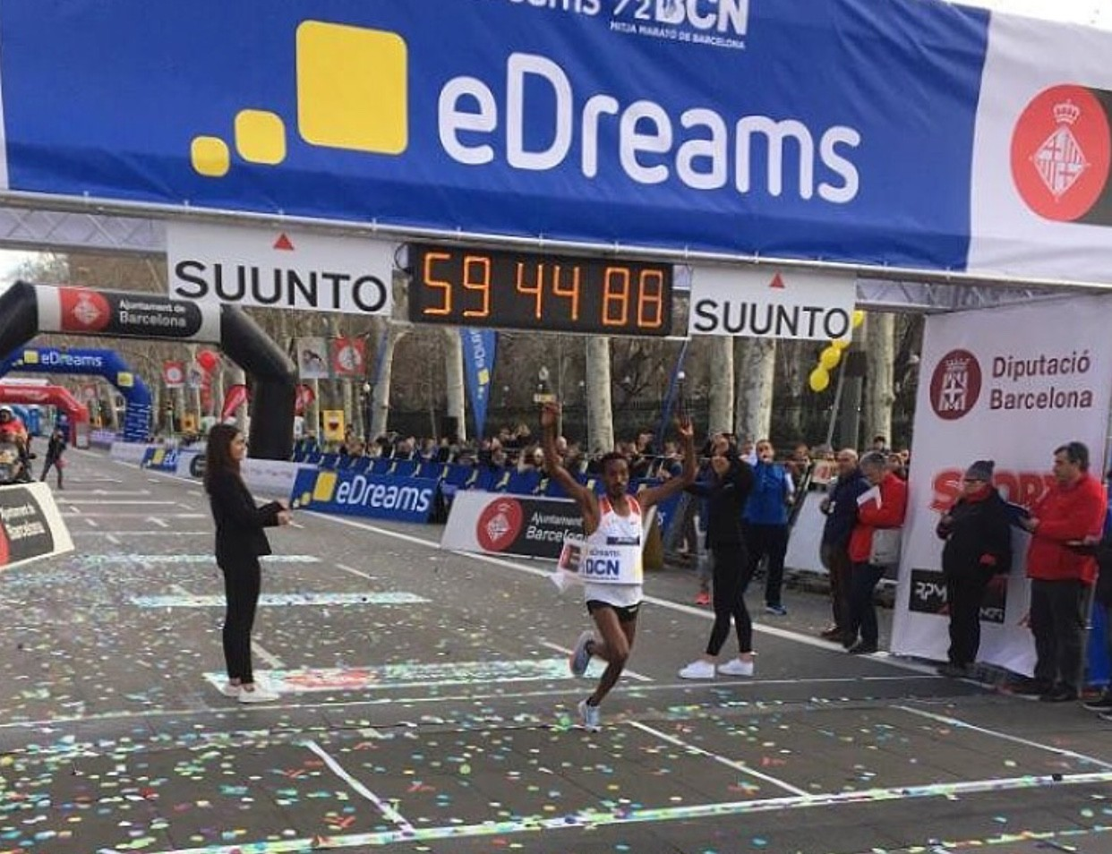 Wasihun breaks course record in Barcelona and Wanders sets new Swiss Record