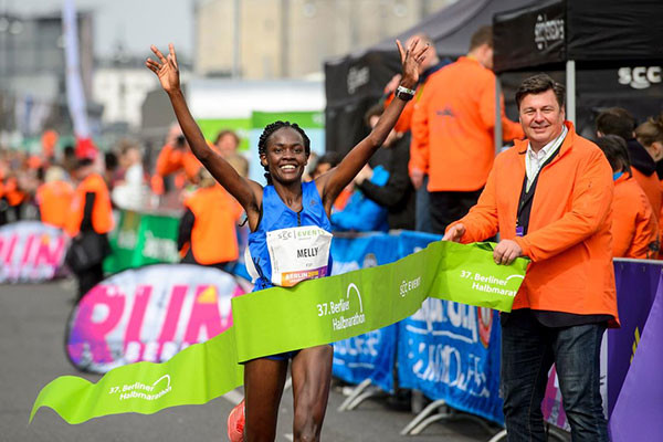 Kenyan´s Joan Chelimo Kelly is looking forward to running her personal best at  Copenhagen Half Marathon