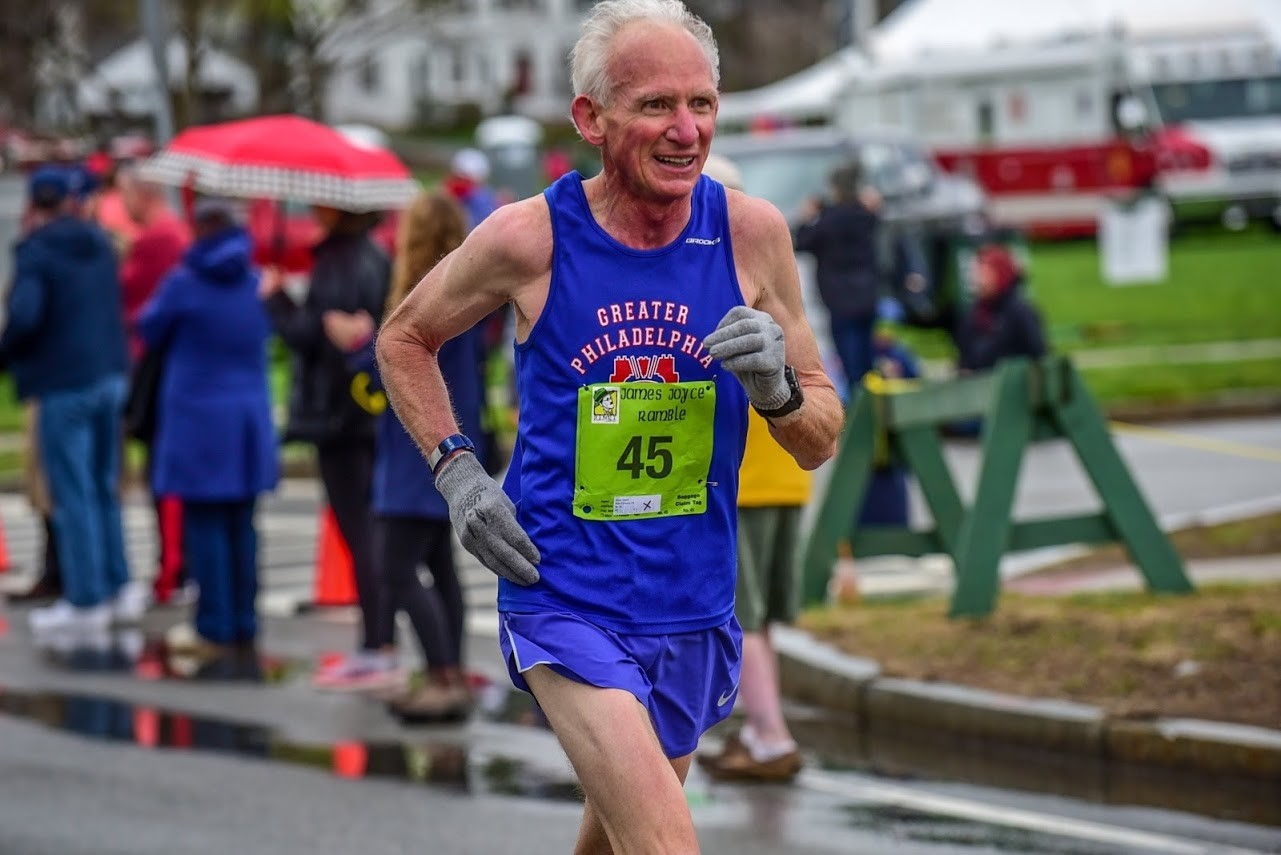 Gene Dykes has an insane racing schedule for this year from 5k to 218 milles