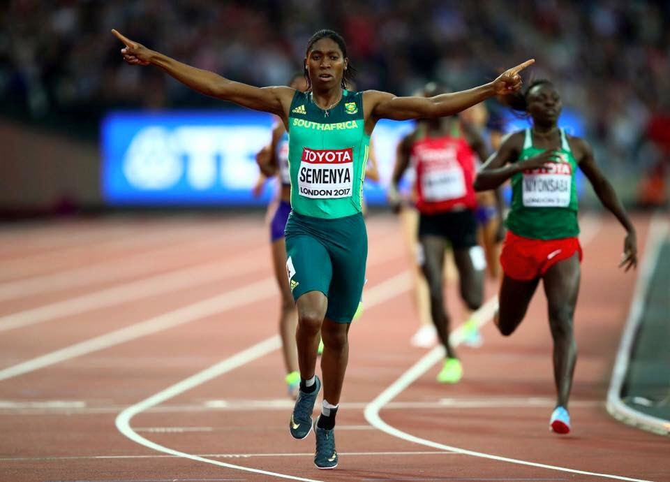 Two-time Olympic 800m champion Caster Semenya takes a new step in appeal