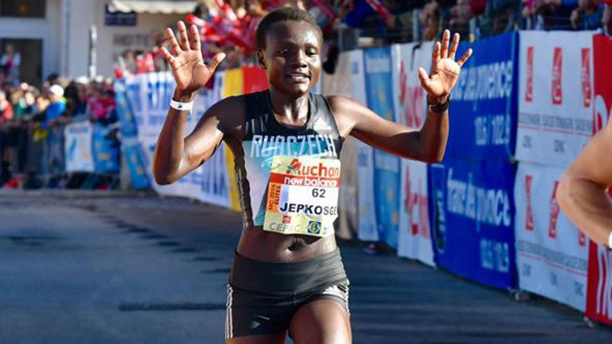 World half marathon record-holder Jepkosgei will represent Kenya at the African athletics championships in Nigeria in August