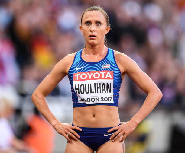 Shelby Houlihan surges past three contenders to win the 1500m while Semenya placed sixth