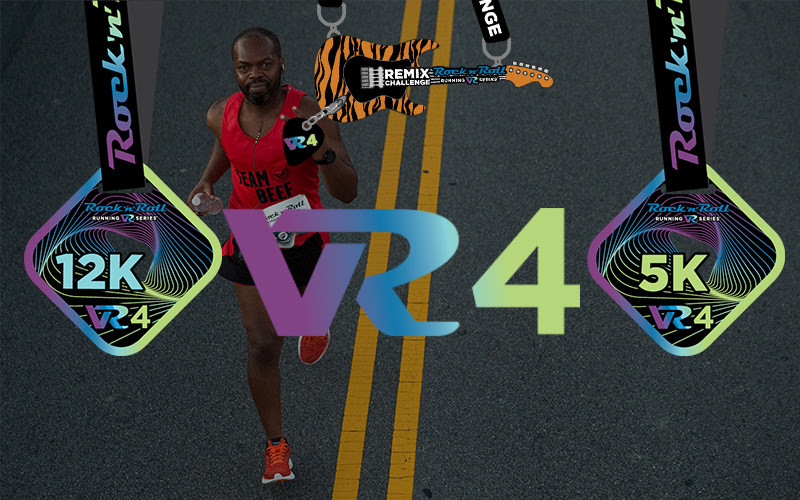 Runners and walkers from 94 nations registered to take part in the Rock 'n' Roll VR4, eclipses 20,000 Participants