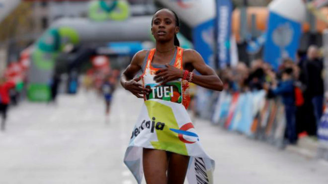 Why young Kenyan Sandra Chebet cannot wait for London Marathon?