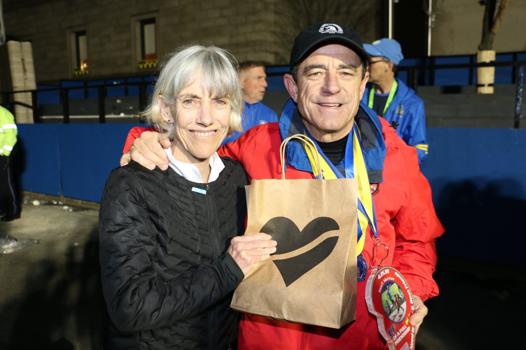 Boston Marathon Race Director David McGillivray runs the course again for the 47th time after having triple by-pass heart surgery six months ago