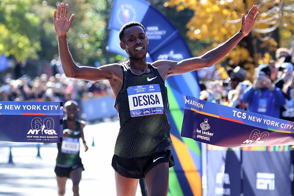 Ethiopian Lelisa Desisa is back in the Big Apple to chase more glory at the TCS New York City Marathon on Sunday