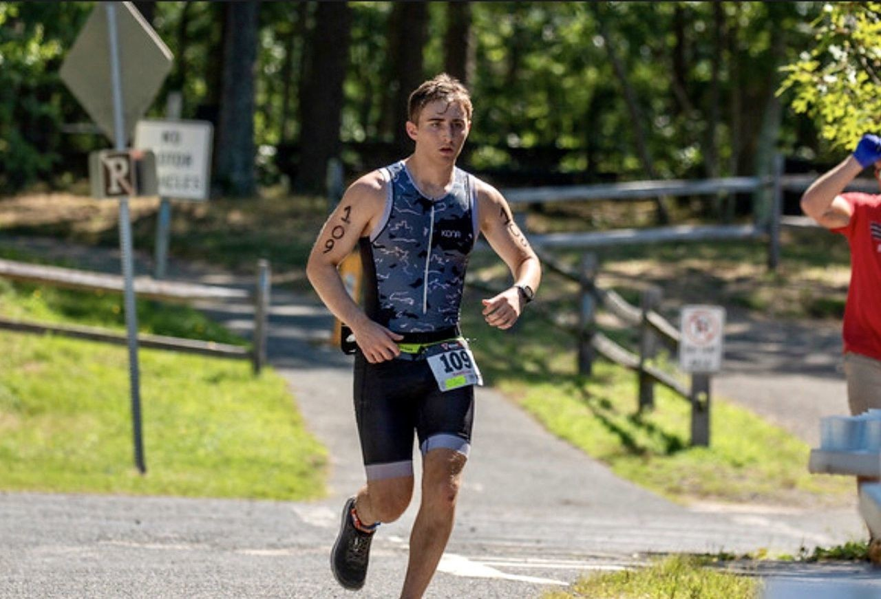 Michael Ferrara, a 17-year-old  teen will run in the virtual Marine Corps marathon to support homeless veterans across the country
