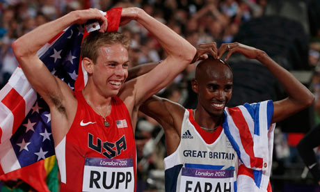 Mo Farah will run the  2018 Chicago Marathon, and will be facing Galen Rupp