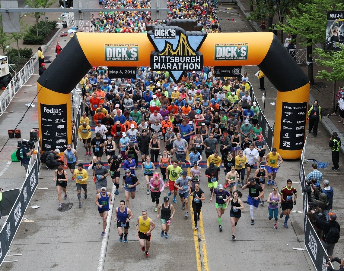 More than 13,000 runners are getting prepared for virtual Pittsburgh Marathon