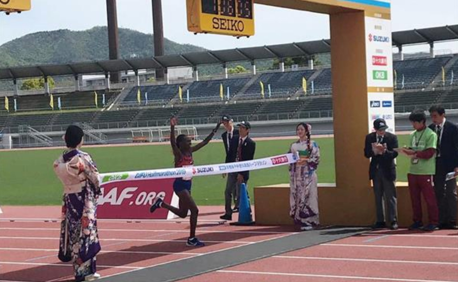Ruth Chepngetich sets Japanese's all-comers Half-Marathon record at Gifu