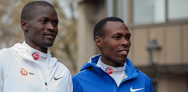 Kenyan runners Geoffrey Kirui and Bedan Karoki are ready to battle at  Chicago marathon