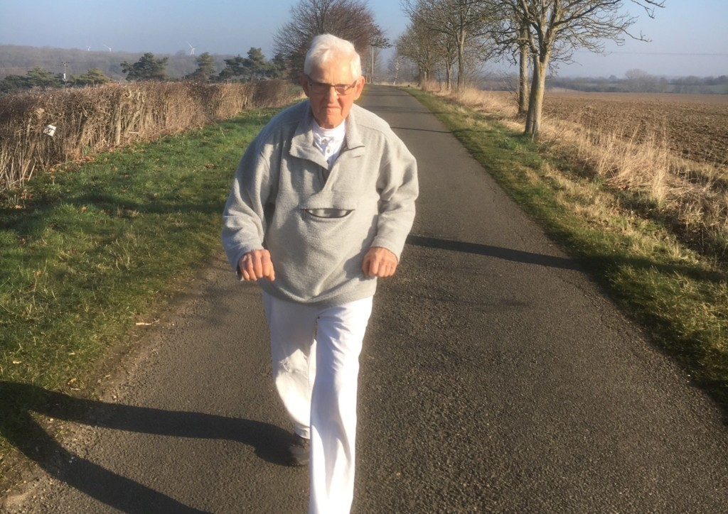 A cancer survivor Pete Alsop will be showing that age is no obstacle by taking on the London Marathon in his eighties for Cancer Research UK
