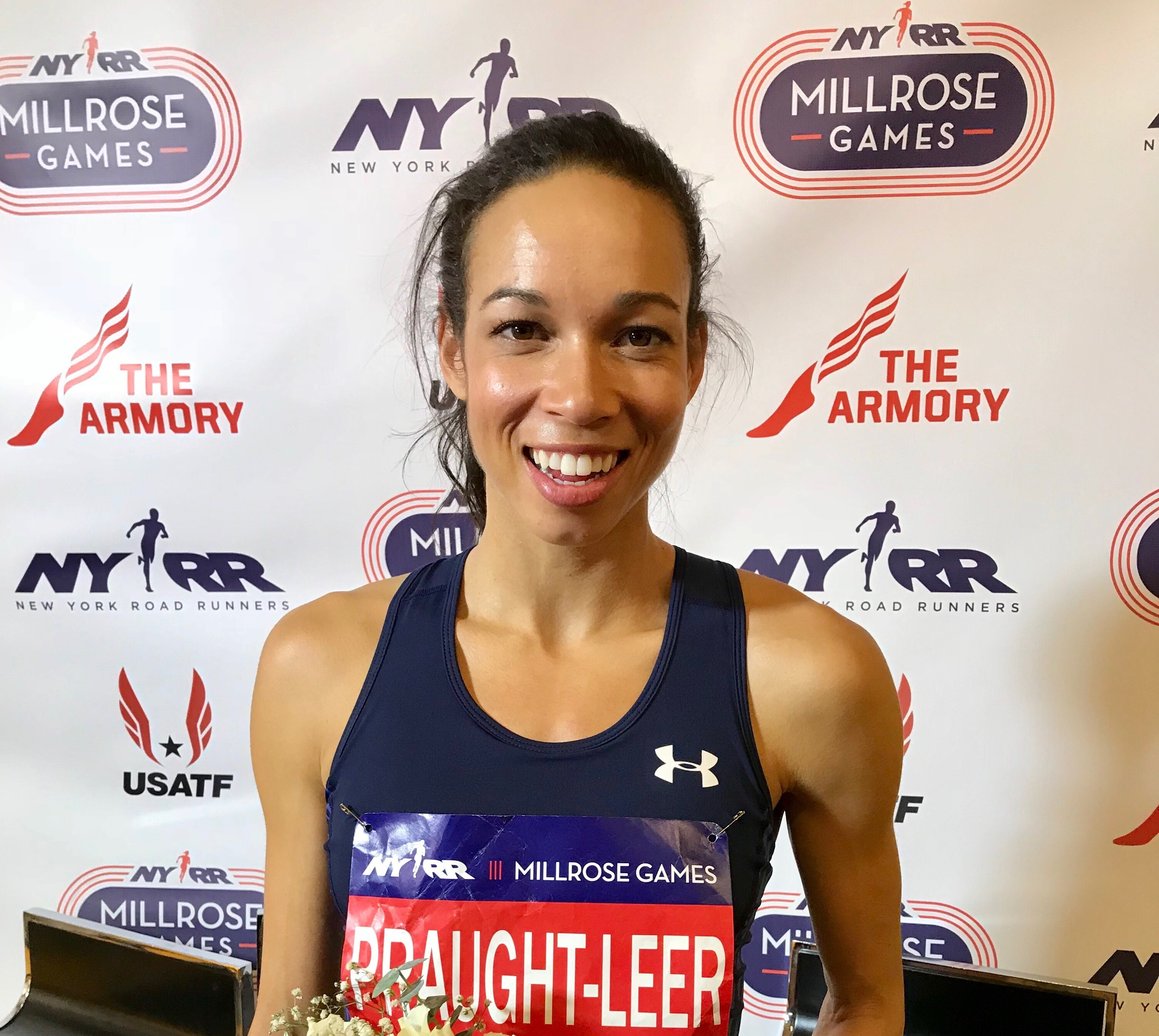 Track & Field superstars Aisha Praught-Leer and Emma Coburn, will reunite in the Women's 3,000m during the 112th NYRR Millrose Games on Saturday February 9th