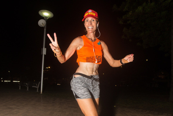 Ovarian cancer survivor Going to run the Toughest Foot Race on the Planet