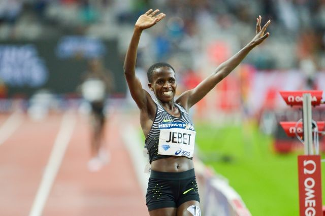 Kenyan-born Bahraini runner Ruth Jebet handed four-year ban for doping violation