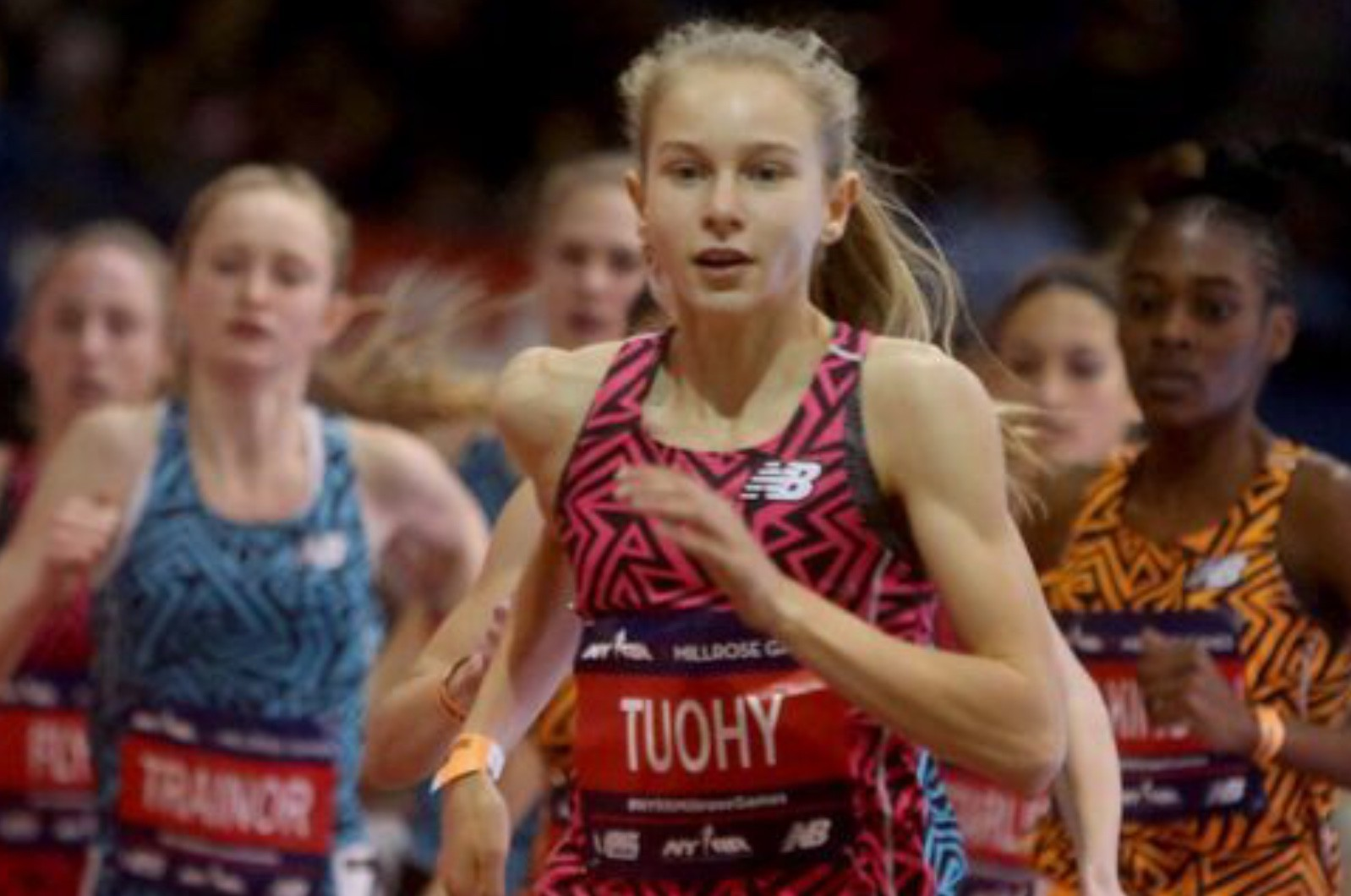 The Millrose Games High School Girls Mile went way off Script