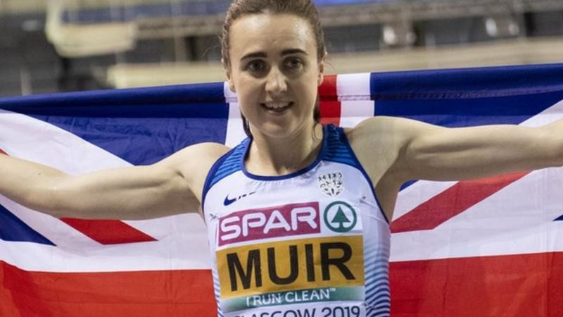 Laura Muir will attempt to break the 1,000m world record when she races in the Indoor Grand Prix at Glasgow's Emirates Arena in February