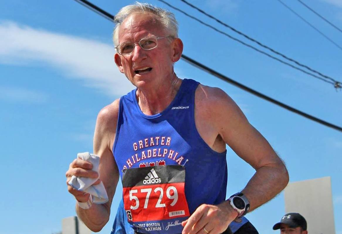 Gene Dykes is currently the world's top 70 Plus runner - My Best Runs Exclusive Profile Part One