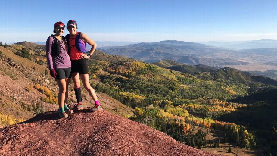 After years of struggling with the aftermath of the 1999 Columbine shooting, Laura Hall and Sarah Bush have used running as a method to overcome the anxiety, and now are set for Boston