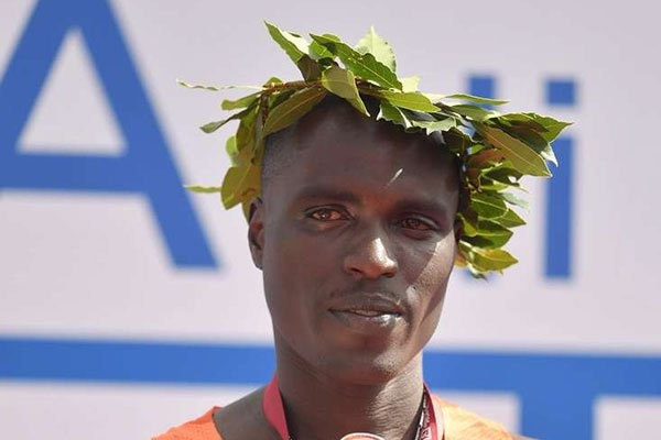 Kipchoge wins the Rome Marathon this morning in 2:08:03